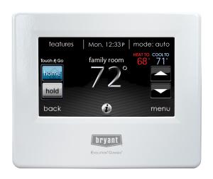 Bryant Connex Thermostat
