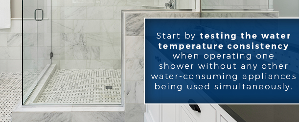 ask our experts: inconsistent water temperature in shower or tub
