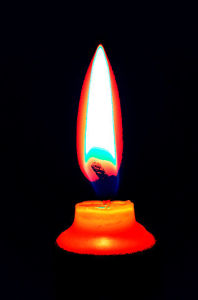 Flame from Candle