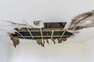 ceiling broken